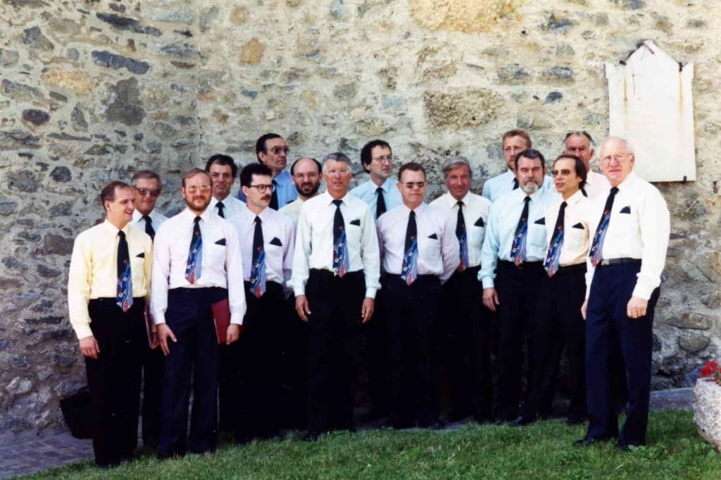 inauguration renovation de eglise de Vilargerel en 1994